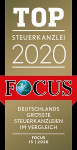 Top Steuerkanzlei 2020 - Fokus Spezial: Deutschlands größte Steuerkanzleien im Vergleich